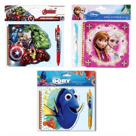 Disney notesz spirál +toll 3 féle
