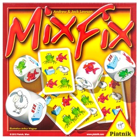 Mixfix társasjáték Itt egy ajánlat található, a bővebben gombra kattintva, további információkat talál a termékről.