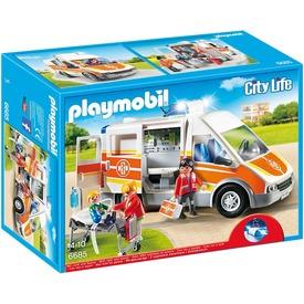 Playmobil Mentőautó fénnyel és hanggal 6685