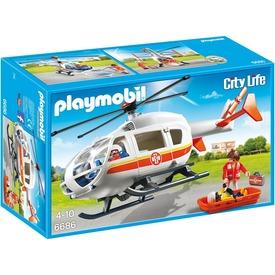 Playmobil Mentőhelikopter 6686