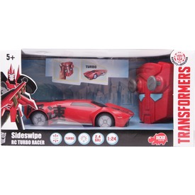 Transformers Sideswipe távirányítós autó - 18 cm