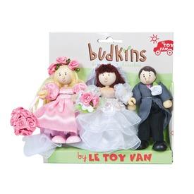 Le Toy Van: Esküvői fa figura 3 darabos készlet Itt egy ajánlat található, a bővebben gombra kattintva, további információkat talál a termékről.