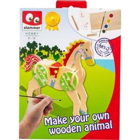 Készíts saját fa állatokat! 3 féle
