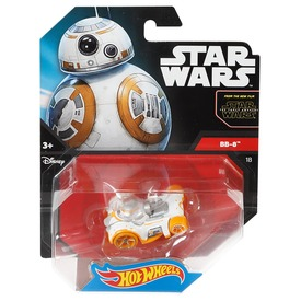Hot Wheels Star Wars karakter kisautók DXN