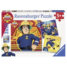 Sam a tűzoltó 3 x 49 darabos puzzle