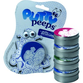 Putty Peeps intelligens gyurmalin szemekkel - 50 g