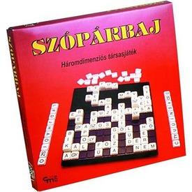 Szópárbaj háromdimenziós társasjáték