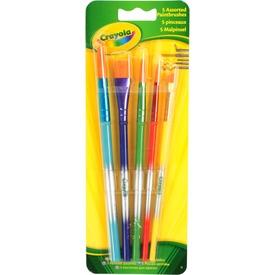 Crayola: 5 darabos ecset Itt egy ajánlat található, a bővebben gombra kattintva, további információkat talál a termékről.