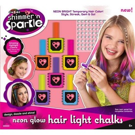 Cra-Z Art neon hajszínező kréta készlet