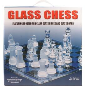 Üveg sakkészlet