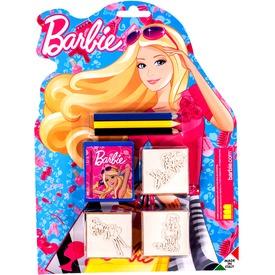 Játéknyomda 3 db + színes ceruza - Barbie Itt egy ajánlat található, a bővebben gombra kattintva, további információkat talál a termékről.