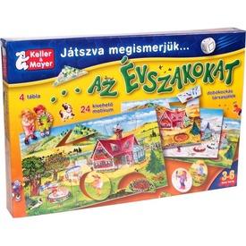Játszva megismerjük az évszakokat 24 darabos puzzle