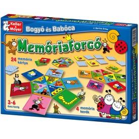 Bogyó és Babóca Memóriaforgó társasjáték