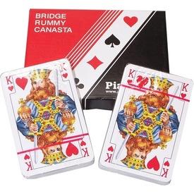 Klasszikus 2 x 55 lapos römi kártya