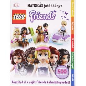 LEGO Friends matricás játékkönyv - 500 matricával Itt egy ajánlat található, a bővebben gombra kattintva, további információkat talál a termékről.