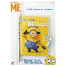 Minion titkos napló ceruzával Itt egy ajánlat található, a bővebben gombra kattintva, további információkat talál a termékről.