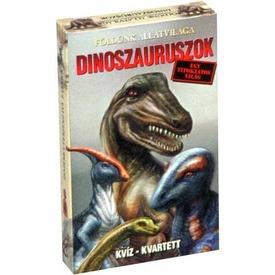 Dinoszauruszok kvíz kvartett kártyajáték Itt egy ajánlat található, a bővebben gombra kattintva, további információkat talál a termékről.