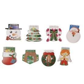 Jegyzetfüzet, karácsonyi, 8 féle  Itt egy ajánlat található, a bővebben gombra kattintva, további információkat talál a termékről.