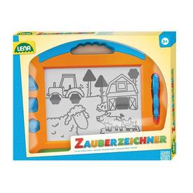 Színes mágneses rajzolótábla - 41 cm