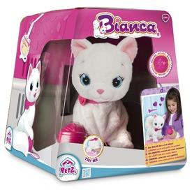 Bianca interaktív cica plüssfigura - 25 cm