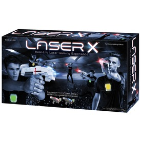 Laser-X infravörös pisztoly 2 darabos készlet