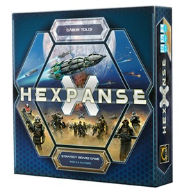 Hexpanse stratégiai társasjáték