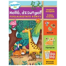 Helló, dzsungel foglalkoztató könyv