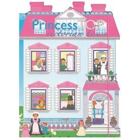 Princess Top viktoriánus ház matricás tervező