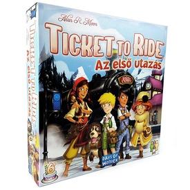 Ticket to Ride Az első utazás társasjáték