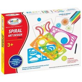 Spirál művészet rajzkészlet Itt egy ajánlat található, a bővebben gombra kattintva, további információkat talál a termékről.
