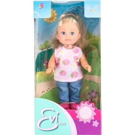 Évi baba nyári ruhában - 12 cm, többféle