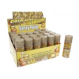 Műhó spray - aranyszínű, 250 ml