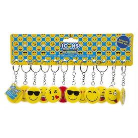 Smiley kulcstartó - 4 cm, többféle Itt egy ajánlat található, a bővebben gombra kattintva, további információkat talál a termékről.