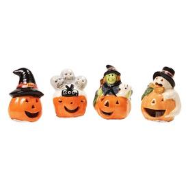 Halloween kerámia tök figura - többféle