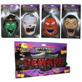 Halloween figura ajtócsengő - többféle