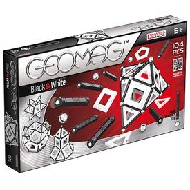 Geomag Panels 104 darabos készlet - fekete-fehér