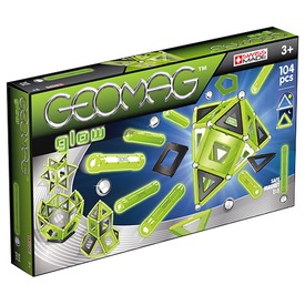 Geomag Glow 104 darabos készlet