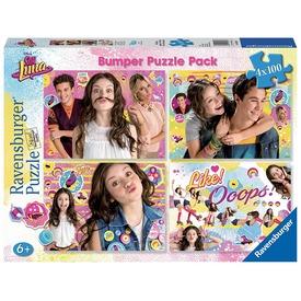 Soy Luna 4 x 100 darabos puzzle Itt egy ajánlat található, a bővebben gombra kattintva, további információkat talál a termékről.