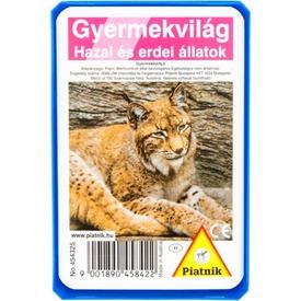 Hazai és erdei állatok kártya Itt egy ajánlat található, a bővebben gombra kattintva, további információkat talál a termékről.