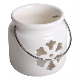 Porc. Mécsestartó Kör +Fog. Virág Fehér  Itt egy ajánlat található, a bővebben gombra kattintva, további információkat talál a termékről.