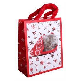 Papírtasak M +HS PLF. Cica karácsonyi  Itt egy ajánlat található, a bővebben gombra kattintva, további információkat talál a termékről.