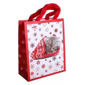 Papírtasak M +HS Cica Karácsonyi sapis  Itt egy ajánlat található, a bővebben gombra kattintva, további információkat talál a termékről.