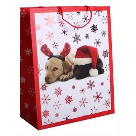 Papírtasak M +HS Karácsonyi Kutyusok  Itt egy ajánlat található, a bővebben gombra kattintva, további információkat talál a termékről.