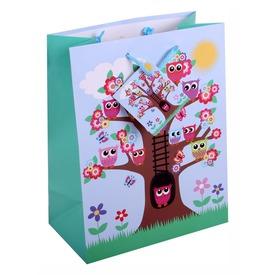 Baglyok a fán ajándéktasak - kicsi Itt egy ajánlat található, a bővebben gombra kattintva, további információkat talál a termékről.