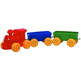Műanyag vonat 3 darabos