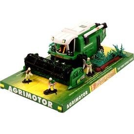 Farm World kombájn figurákkal - 28 cm, többféle
