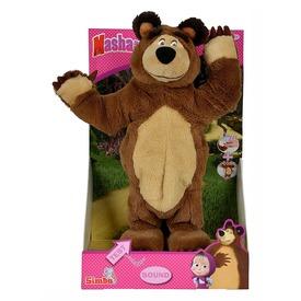 Masha és a medve táncoló medve plüssfigura - 32 cm