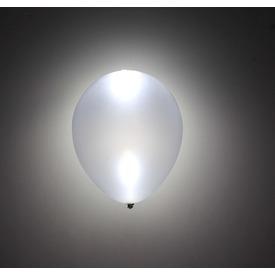 LED lufi 5 darabos készlet - ezüst