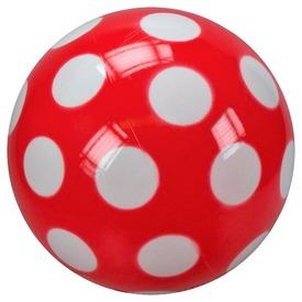 Pöttyös lakkfényű labda - 28 cm, többféle
