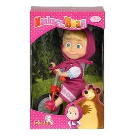 Masha és a medve Masha baba triciklivel - 12 cm